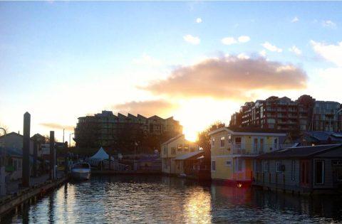 Sunset at Fisherman's Wharf