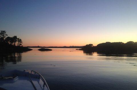 Sunset over Oak Bay