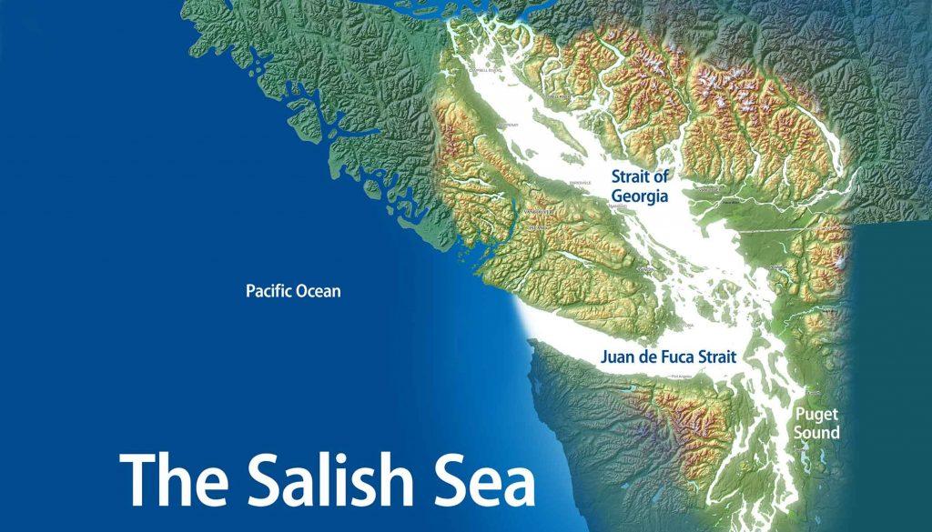 Map of the Salish Sea region