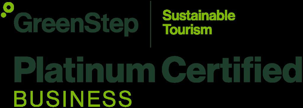 platinum certified sustainable tourism